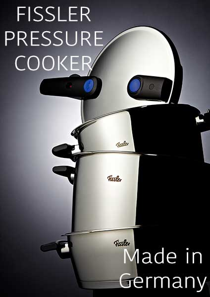 Fissler Pressure Cookers
